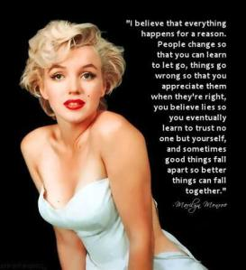 Marilyn with quote